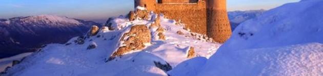 Rocca Calascio innevata
